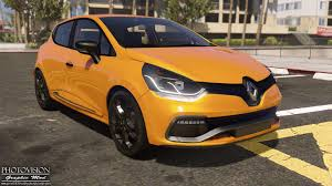 renault clio 2013 renault clio iv rs 2013 add on replace tuning template