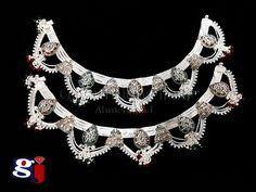 asopalav design payal by gj gayatrijewellers silver