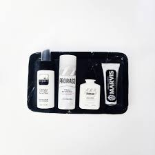 Chic Toiletries A Selection Of Favourite Travel Size Toiletries For Men