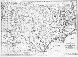 North Carolina Map 1780 Map Of North Carolina English