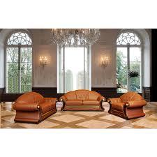 Tufted Leather Sofa Set by Versace Leather Sofa Centerfieldbar Com