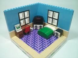 lego bedroom moc youtube