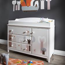 south shore cotton candy changing table with drawers soft gray south shore cotton candy changing table with removable top and magic