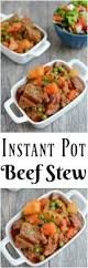Cold Dinner Instant Pot Beef Stew