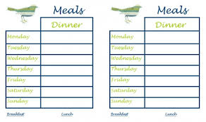 30 family meal planning templates weekly monthly budget tip