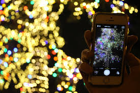 menlo park gathers for holiday tree lighting ceremony peninsula