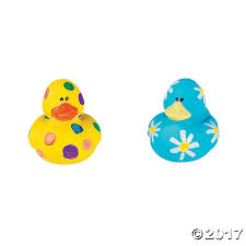 diy rubber duckies