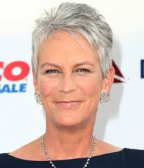 short haircuts for women over 50 with fine hair and white grey