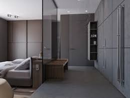 Brilliant 40 Medium Wood Apartment Two Apartments With Sleek Grayscale Interiors