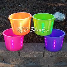 purple led halloween lights led light up halloween buckets u2013 rcs blanks llc