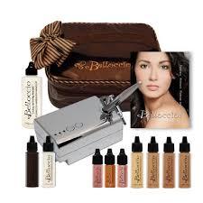 professional airbrush makeup system belloccio s complete professional airbrush cosmetic makeup system