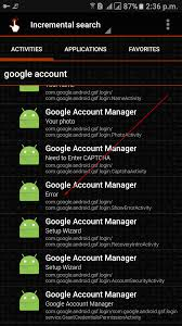 login services apk account manager error fix android 5xx apk gsm solution