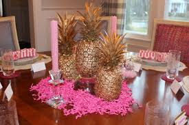 60th birthday centerpieces for tables the pink elephant 60th birthday ideas round 2 pink gold