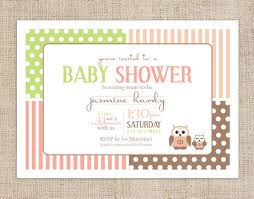 personalised baby shower invitations template best template