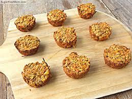 carrot cake baked oatmeal cups gluten dairy u0026 nut free