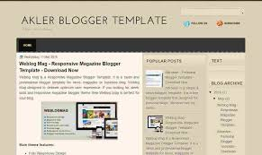 akler is a very simple blogger template it is a free blogger