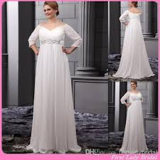 2015 plus size wedding dresses 3 4 sleeves couture off the