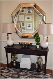trendy foyer mirror with shelf for cool decoration u2013 modern shelf