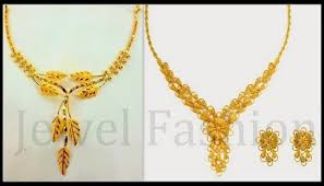 gold necklace simple design images Simple gold necklace designs 2017 jewelry nook jpg