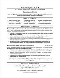 registered nurse cover letter resume and enclosure for nursing