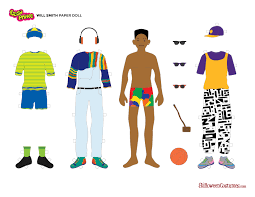 Halloween Costumes Coupons Printable by 6 Printable Fresh Prince Of Bel Air Paper Dolls Halloween