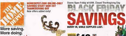 black friday ad for home depot black friday ad home depot black friday ad is available