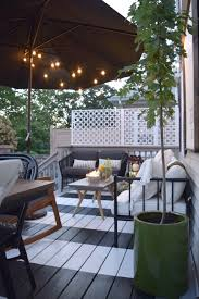 outdoor patio now we really love it small backyard decks space