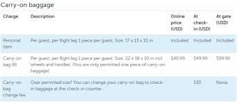 carry on fee no free carry on with wow air u0026 higher fees awardwallet blog