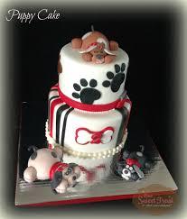 one sweet treat puppy love cake