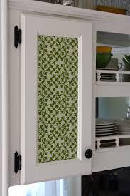 Kitchen Cabinet Doors Diy Home Decor Diy Update Your Kitchen With Fabric Cabinet Door