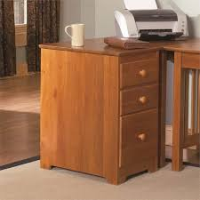 Three Drawer File Cabinet by Atlantic Furniture 3 Drawer File Cabinet In Caramel Latte H 80137