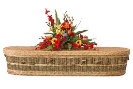 wicker casket the woven casket co eco friendly caskets coffins willow