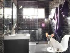 Modern Small Bathroom 30 Small Bathroom Design Ideas Hgtv