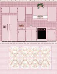 printable barbie house furniture free printable dollhouse kitchen via julieta sandoval printable