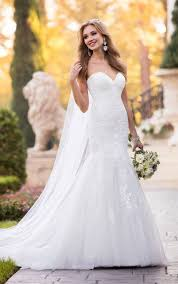fitted wedding dresses lace wedding dresses form fitting lace wedding dress stella york