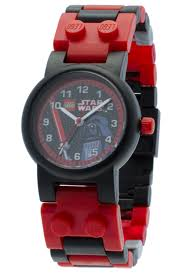 amazon com lego star wars darth vader kids buildable watch with