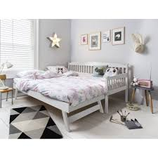Pull Out Daybed Daybed With Pull Out Bed Day Trundle In White Noa Nani 6
