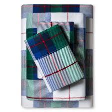 evergreen flannel sheet set ebay