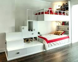 chambre fille lit superposé lit enfant avec escalier lit superpose avec tiroir design lits