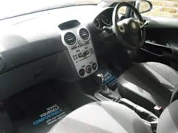 opel corsa 2002 interior vauxhall corsa automatic for sale at car place co uk