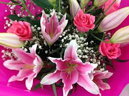 Wedding Flowers Cork Rose U0026 Lily Flower Bouquet Flower Delivery Cork Unforgettable