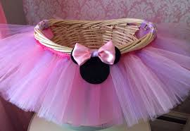 minnie mouse easter baskets medium minnie mouse themed tutu basket birthday tutu gift