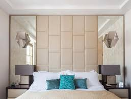 Modern Bedroom Decorating Ideas Square Shaped Framed Wall Mirrors - Mirror design for bedroom