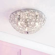 ovii 3 light bathroom oval flush ceiling light chrome u0026 glass