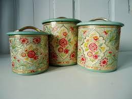 22 best vintage kitchen canisters images on pinterest kitchen