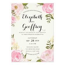 wedding card invitation invitation card for wedding vintage pink floral wedding invitation