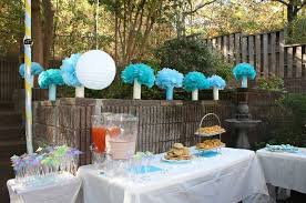 Decorating Chair For Baby Shower For Baby Boy Shower Decorations