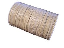 raffia ribbon oatmeal matte raffia ribbon 1 4 x 100 yards arts