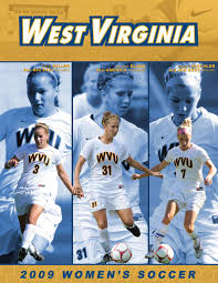 2009 west virginia university women u0027s soccer guide by joe swan issuu