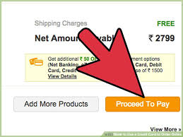 how to use a credit card to order 9 steps with pictures